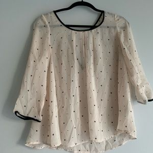 H&M Tops - Women's polka dot blouse.